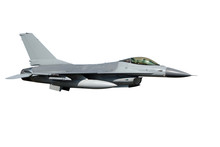 F-16 Isolated