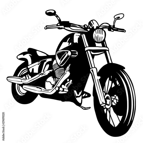 Poster Motorcycle moto custom