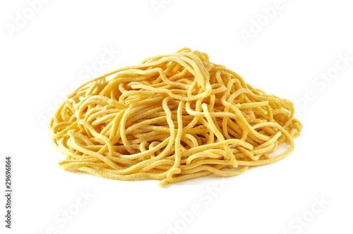 Fotografia Spaghetti alla chitarra, pasta fresca fatta a mano