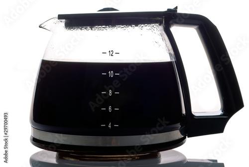 Fotografie, Obraz  Kaffeekanne gefüllt