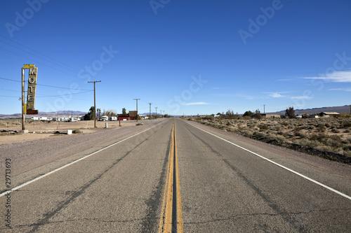 Foto op Canvas Route 66 Historic Route 66