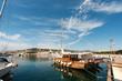 Harbor in San Feliu de Gauxols