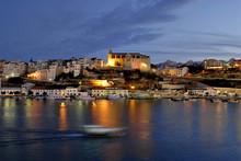 Mahón Y Su Puerto. Maó, Menorca, Balears, Spain, Europe.