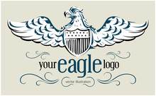 Democracy Eagle Emblem
