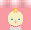pink baby girl (blonde)