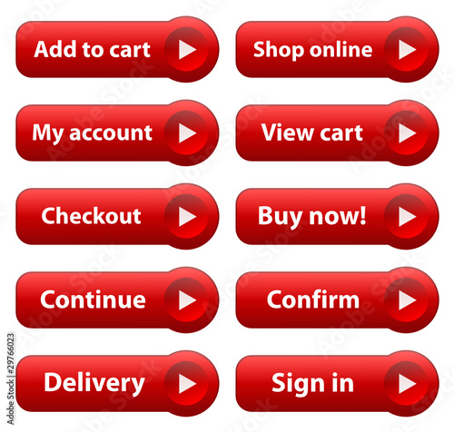 6c0372cf3 E-COMMERCE Web Buttons (add to cart buy shop online order now) - Buy ...