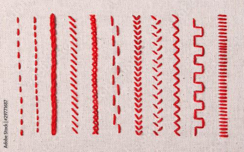 Fotomural Embroidery