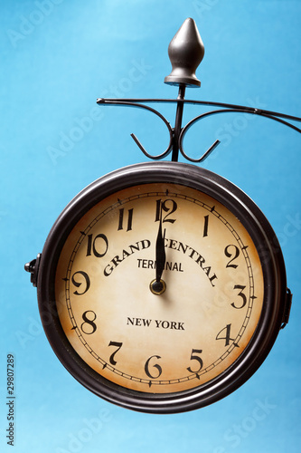 clock of grand central station Wallpaper Mural