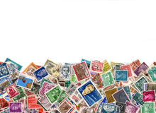 Large Amount Of Postage Stamps...
