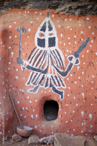 Photo African painting