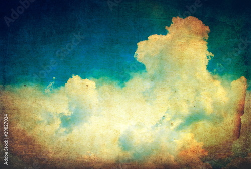 vintage-niebo-i-chmury