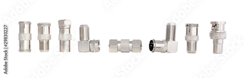 Photo Coaxial cable adapters