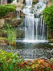 NaklejkaWaterfall in London park, Kew Gardens