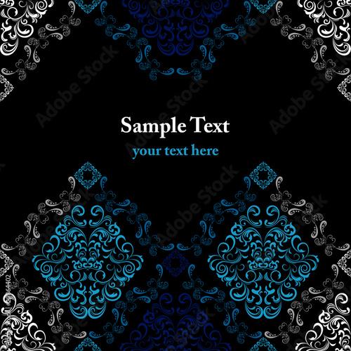 Fotografie, Obraz  Abstract stylish pattern