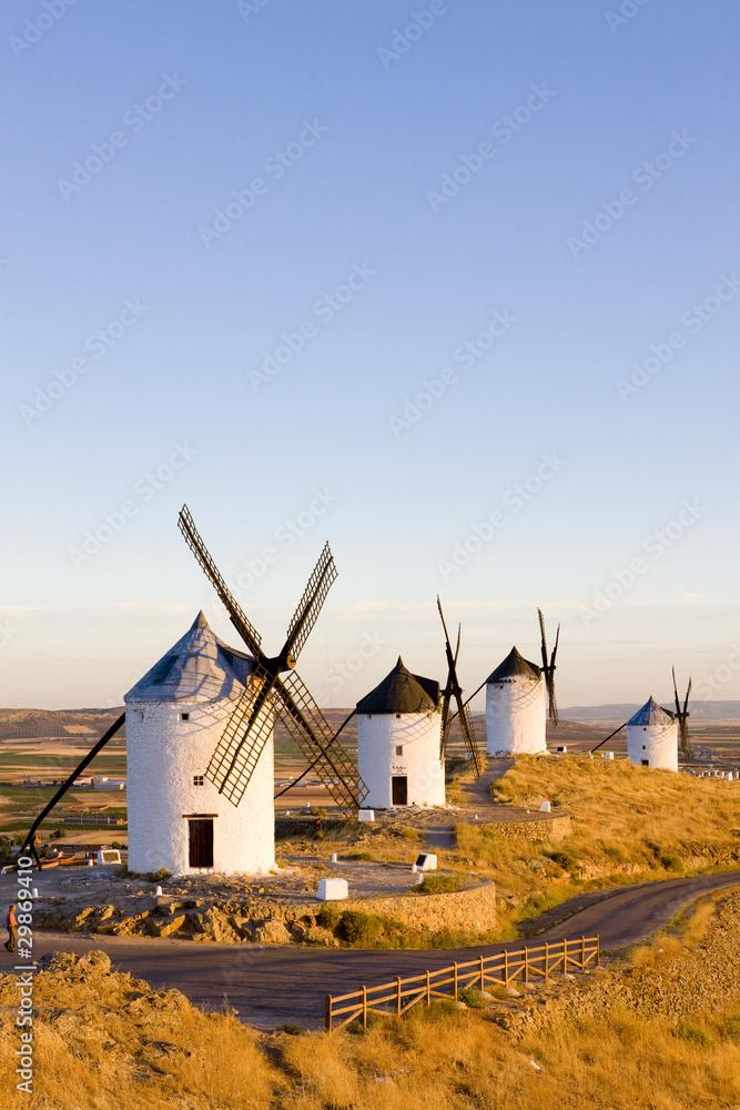 Fototapeta windmills, Consuegra, Castile-La Mancha, Spain