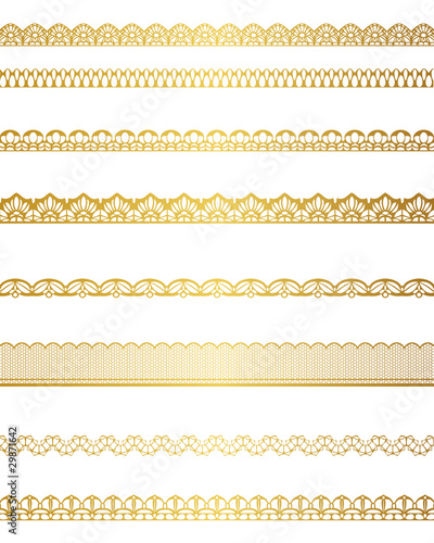Fotografía  gold lace set