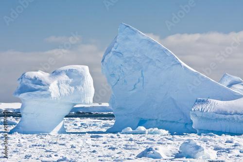 Fotografie, Obraz  Antarctic glaciers