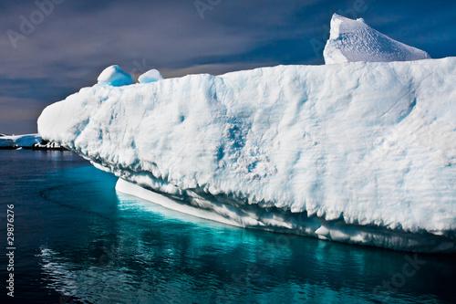 Papiers peints Arctique Antarctic glacier