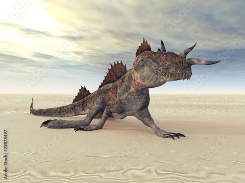 Poster Draken Phantastische Kreatur