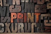 The Word 'PRINT' Spelled Out I...