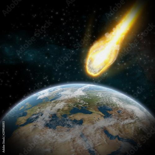 asteroida-i-ziemia-zderzenie-meteorow-z-planeta