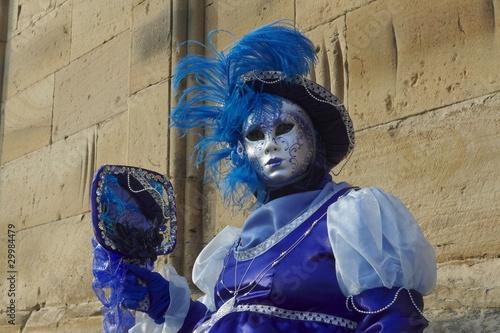 Cadres-photo bureau Inspiration painterly carnaval vénitien de rosheim en alsace