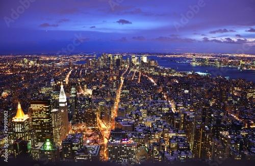 Foto New York Empire State Building Panorama