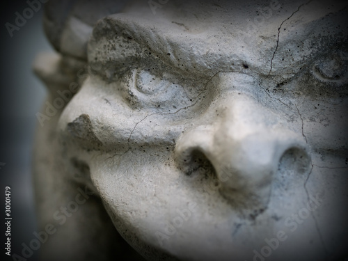 Obraz na plátně Gargoyle Statue