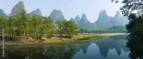 landscape of Guilin China