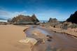 Playa de Laga, Ibarrangelu, Bizkaia, España