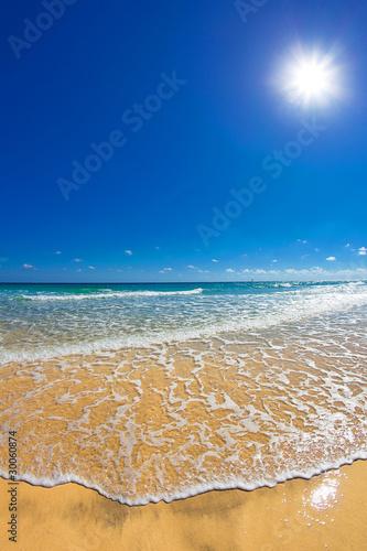 Foto-Leinwand - sunny beachweather