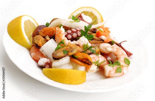 Fotografie, Obraz  insalata di mare
