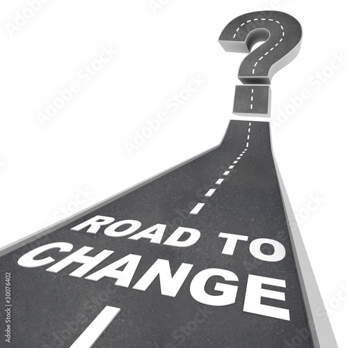 Photo Road to Change - Words on Street