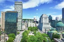 Stadtzentrum Montreal, Quebec/...