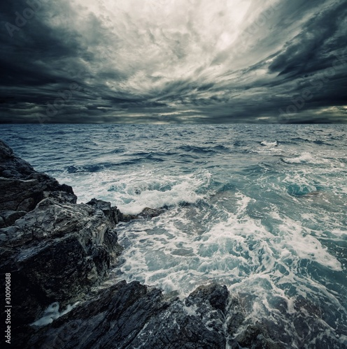 Canvas Prints Storm Ocean storm