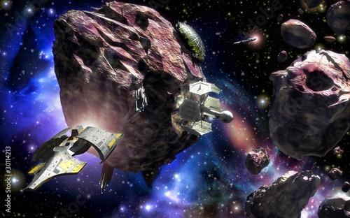 baza-przestrzeni-kosmicznej-asteroid-statku-kosmicznego