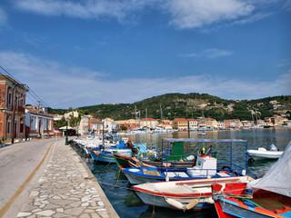 Fototapeta na wymiar Paxoi island in Greece