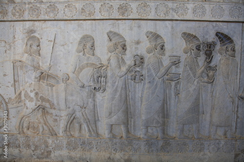 Foto op Plexiglas Artistiek mon. Persepolis - ruins of Xerxes & Darius palace