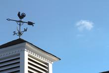 Weather Vane Atop Roof