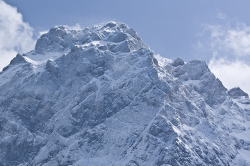 Fototapeta Góry alps in winter