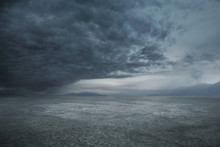 Stormy Weather And Dark Clouds