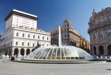 Piazza De Ferrari, Genova - De...