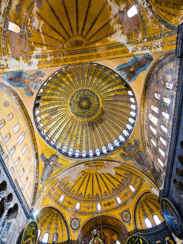 Fotografia cupola on Hagia Sophia, Istanbul