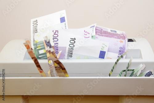 Valokuva  Geldverschwendung