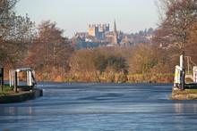 Exeter Canal In Winter