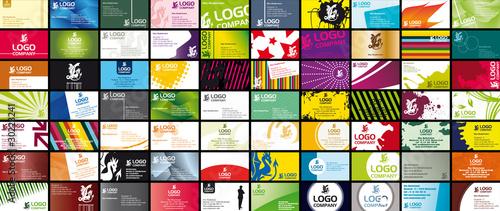 Foto 70 Various Business Card Templates