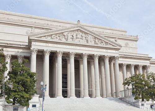 Fotografie, Obraz  National Archives in Washington DC