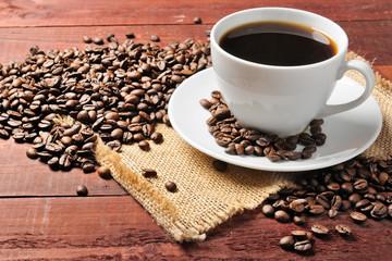 Fototapeta kawa w filiżance