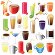 drinks - lemonade, coffee, tee, coctail