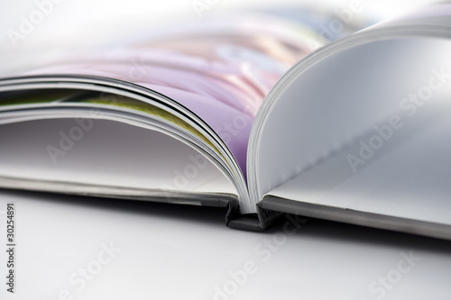 Fotografie, Obraz  Detail of open book